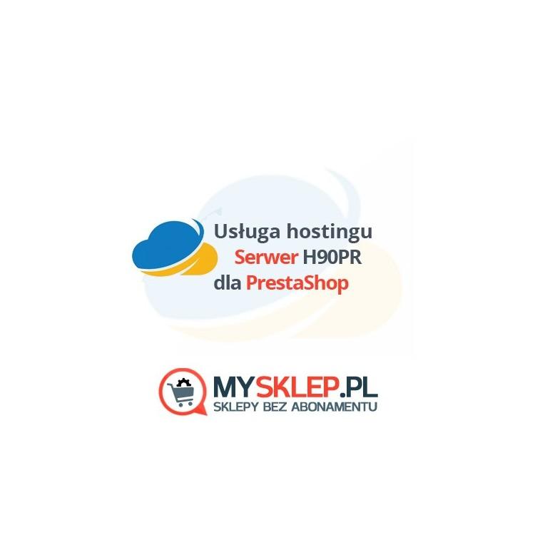 Serwer PrestaShop H90PR 12miesięcy